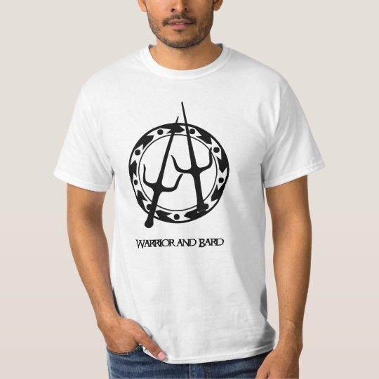 Xena Warrior and Bard Camiseta