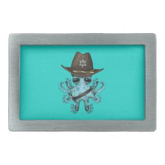 Xerife bonito do polvo do bebê azul