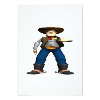 Xerife Convite 12.7 X 17.78cm