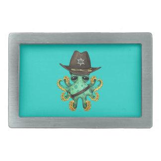 Xerife verde bonito do polvo do bebê