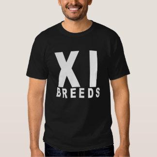 XI t-shirt da camisa das eliminatórias de Breds