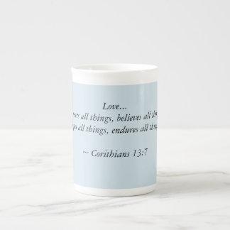 Xícara De Chá 13:7 dos Corinthians