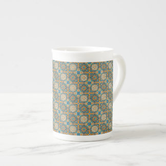 Xícara De Chá Azulejos de Alexandria