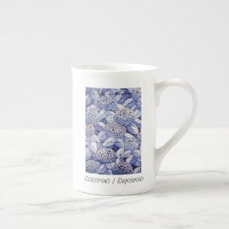Xícara De Chá Azulejos florais