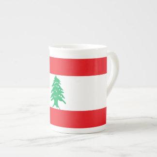 Xícara De Chá Bandeira de Líbano
