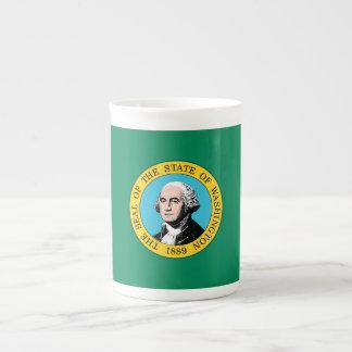 Xícara De Chá Bandeira do estado de Washington
