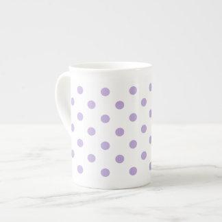 Xícara De Chá Bolinhas da lavanda da casa de campo