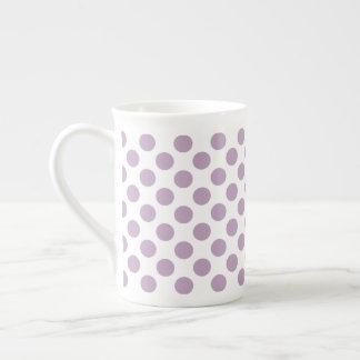 Xícara De Chá Bolinhas do Lilac