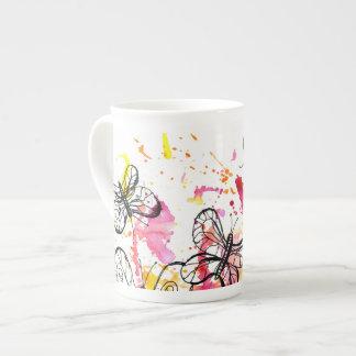 Xícara De Chá Borboletas de inspiração