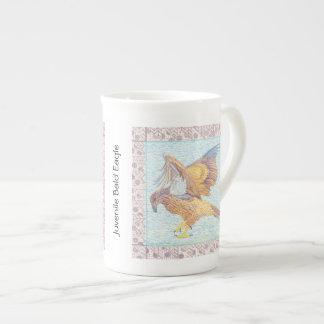 Xícara De Chá Café da águia americana/caneca juvenis do chá