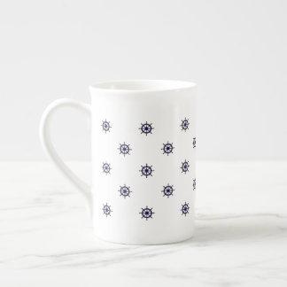 Xícara De Chá Café da roda/caneca náuticos do chá