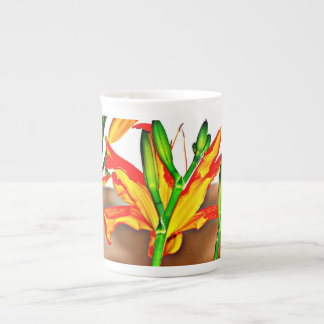 Xícara De Chá Café de China do lírio de tigre/caneca copo de chá