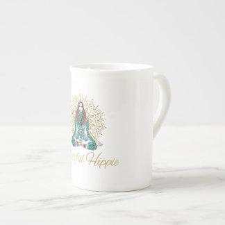 Xícara De Chá Café do Hippie ou copo de chá bonito