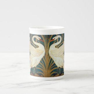 Xícara De Chá Cisne do guindaste de Walter, precipitação e arte