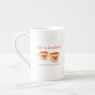 Xícara De Chá Copo - a vida é bonita