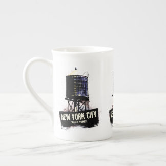 Xícara De Chá Copo da torre de água da Nova Iorque