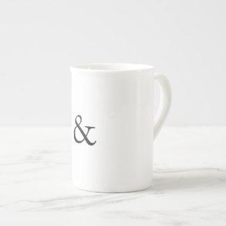 Xícara De Chá Copo de café do Ampersand