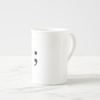 Xícara De Chá Copo de café do Semicolon