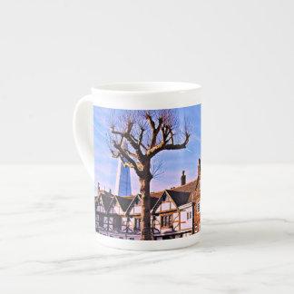 Xícara De Chá Copo de chá da árvore de Londres