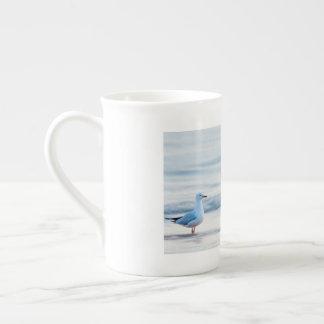 Xícara De Chá Dia da praia para a gaivota
