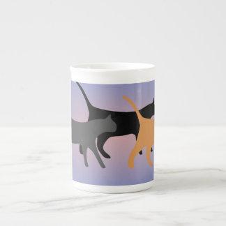 Xícara De Chá Dia de gato taça