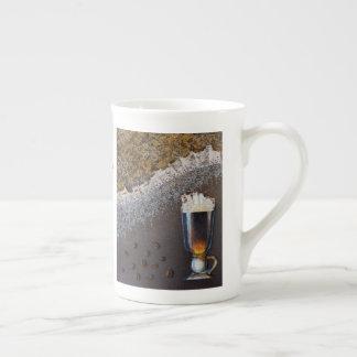 Xícara De Chá Dia de São Patrício personalizado do café irlandês