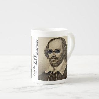 Xícara De Chá Eu pôr ILUMINADO na literatura Shakespeare