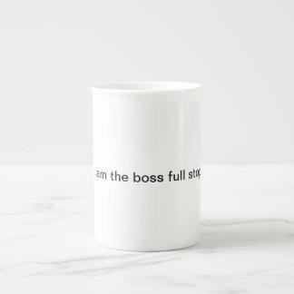 Xícara De Chá Eu sou a parada completa do chefe