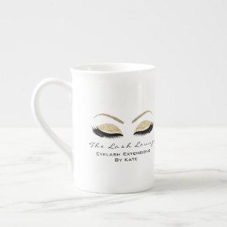 Xícara De Chá Falso de marcagem com ferro quente do ouro do