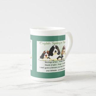 Xícara De Chá Filhotes de cachorro do Spaniel de Springer inglês