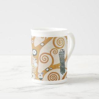 Xícara De Chá Gustavo Klimt a árvore da arte Nouveau da vida