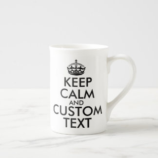 Xícara De Chá Mantenha a calma e criar seus próprios fazem para