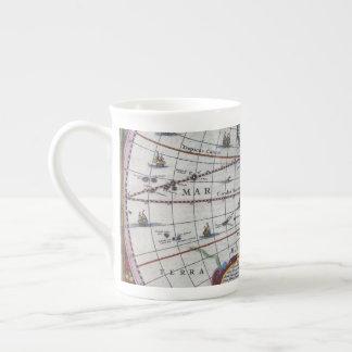 Xícara De Chá Mapas velhos de América