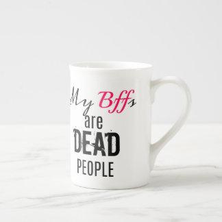 Xícara De Chá Meu Bffs é pessoas inoperantes