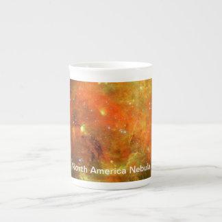 Xícara De Chá Nebulosa de America do Norte
