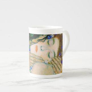 Xícara De Chá O beijo por Gustavo Klimt