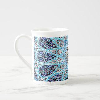 Xícara De Chá Oriente azul