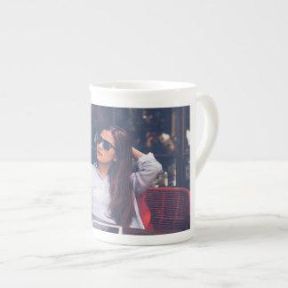 Xícara De Chá Osso, China, caneca, branco, imagem, design