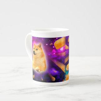 Xícara De Chá pão - doge - shibe - espaço - uau doge