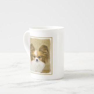 Xícara De Chá Papillon (tri cor do cão)