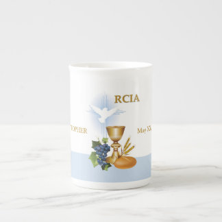 Xícara De Chá Personalize, sacramento do católico de RCIA