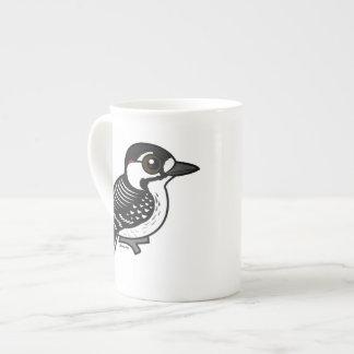 Xícara De Chá Pica-pau Vermelho-cockaded de Birdorable