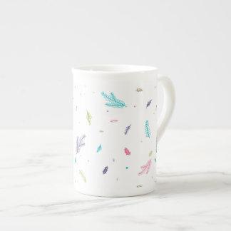 Xícara De Chá Pinhos Pastel