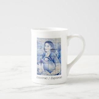 Xícara De Chá Pintura mural de Azulejo