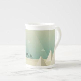 Xícara De Chá Pirâmides