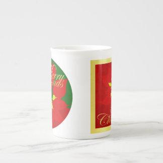 Xícara De Chá Poinsétia