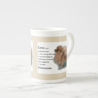 Xícara De Chá Presentes dos amantes de Pomeranian