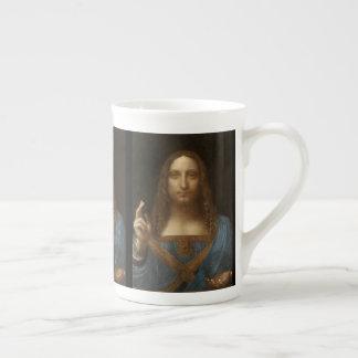 Xícara De Chá Salvator Mundi por Leonardo da Vinci