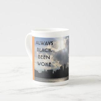 Xícara De Chá Sempre preto