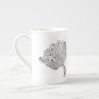 Xícara De Chá Teacup de China de osso da flor de Listakora